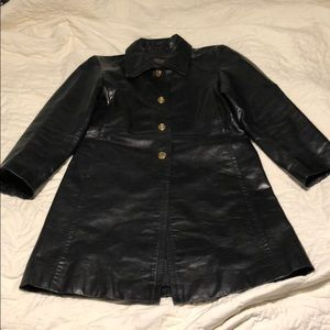Authentic Coach Leather Jacket